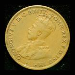 Австралия 1 пенни 1918 Бомбей редкий год, фото №2