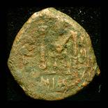 Византия медная монета, фото №2