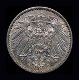 Германия 1 марка 1914 серебро, фото №3