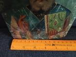 Старая икона Святой Николай, фото №4