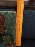 Старая икона Святой Николай, фото №5