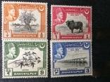 Брит.Індія - Багавальпур 4 марки 40 грн, фото №2