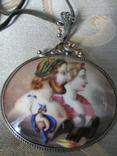 Кулон с эмалями., фото №3