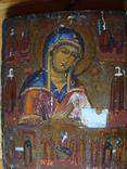 Икона Богородиці 19 век, фото №2