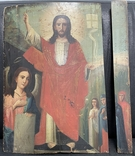 """Древняя икона """"Воскресение"""" под реставрацию, фото №3"""