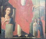 """Древняя икона """"Воскресение"""" под реставрацию, фото №5"""