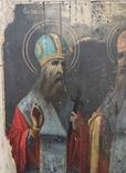 Икона Святой Харлам и Святой Влас 22*27, фото №3