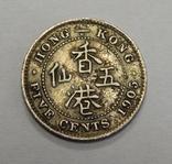 5 центов, 1905 г Гон-Конг, фото №2