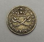 Серебряный токен 1 пенни, Британия, фото №3