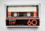Аудиокассета SONY CHF 60 (Jap), фото №2