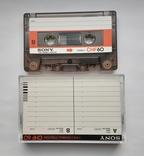 Аудиокассета SONY CHF 60 (Jap), фото №4