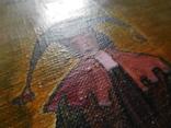 Картина арт брют арлекин, фото №4