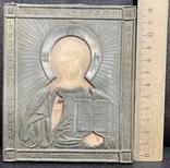 Икона Иисуса Христа в окладе, фото №3