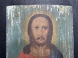 Старинная икона Иисус Христос Вседержитель, фото №3