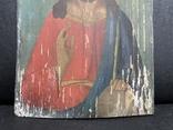Старинная икона Иисус Христос Вседержитель, фото №4