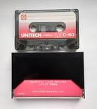 Аудиокассета UNITECH C-60 (Jap), фото №4