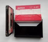 Аудиокассета UNITECH C-60 (Jap), фото №5