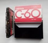 Аудиокассета UNITECH C-60 (Jap), фото №6