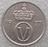 10 Эре 1977 г. Норвегия, фото №3