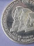 Раунд в честь миссии Аполлон-11, высадки человека на Луну, серебро 0.999, 15 грамм, фото №5