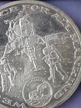 Раунд в честь миссии Аполлон-11, высадки человека на Луну, серебро 0.999, 15 грамм, фото №9