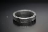 Каблучка із залізного метеорита Muonionalusta N1, з сертифікатом автентичності, фото №11