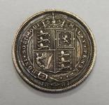 6 пенсов, 1887 г Великобритания, фото №2