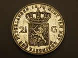 2,5 гульдена, 1870 г Нидерланды, фото №2