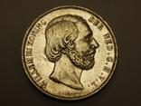 2,5 гульдена, 1870 г Нидерланды, фото №3