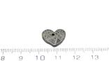 Залізній метеорит Muonionalusta, форма серця, 2.1 грам, сертифікат автентичності, фото №4