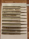 Напильники (боковые 10 шт.), фото №2