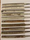 Напильники (боковые 10 шт.), фото №4