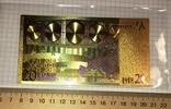 Позолоченная сувенирная банкнота 20 Euro (24K) в защитном файле / сувенірна банкнота, фото №5