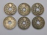 6 монет по 10 центимес, Франция, фото №3