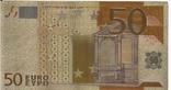 Позолоченная сувенирная банкнота 50 Euro (24K) в защитном файле / сувенірна банкнота, фото №7