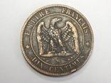 10 центимес, 1856 М Франция, фото №2