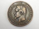 10 центимес, 1856 М Франция, фото №3