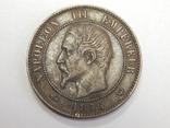 10 центимес, 1856 W Франция, фото №3