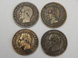 4 монеты по 5 центимес, Франция, фото №3