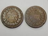 2 монеты по 10 центимес, Франция, фото №2