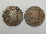 2 монеты по 10 центимес, Франция, фото №3