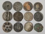Лот 12 монет по 1/2 пенни, Великобритания, фото №3