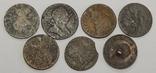 Лот 7 медных монет Великобритании, фото №3