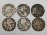 6 монет по 1/2 пенни, Великобритания, фото №3