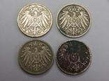 4 монеты по 5 пфеннигов, Германия, фото №3