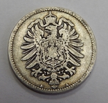 1 марка, 1875 г Германия, фото №3