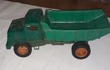 Грузовая машинка времён СССР ,длина 31 см., фото №2