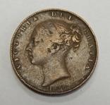 1 фартинг, 1838 г Великобритания, фото №3