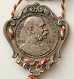 Австро-Венгрия. 80 лет, Император Франц-Иосиф. 1830-1910, 110мм, фото №6