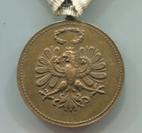 Австро-Венгрия. Тирольская медаль в память Войны 1914-1918, фото №4